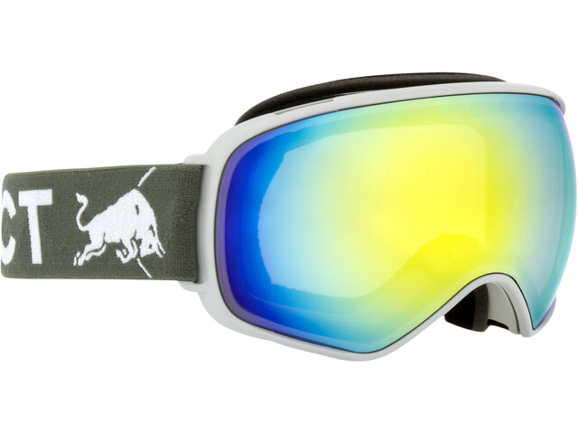Red Bull SPECT Alley Oop Lunettes de protection, light grey/yellow snow